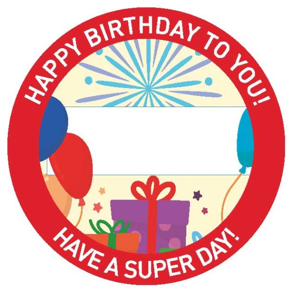 Birthday Sticker